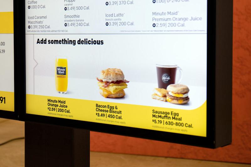 McDonald's Deploys Personalized Menus at 700 Locations