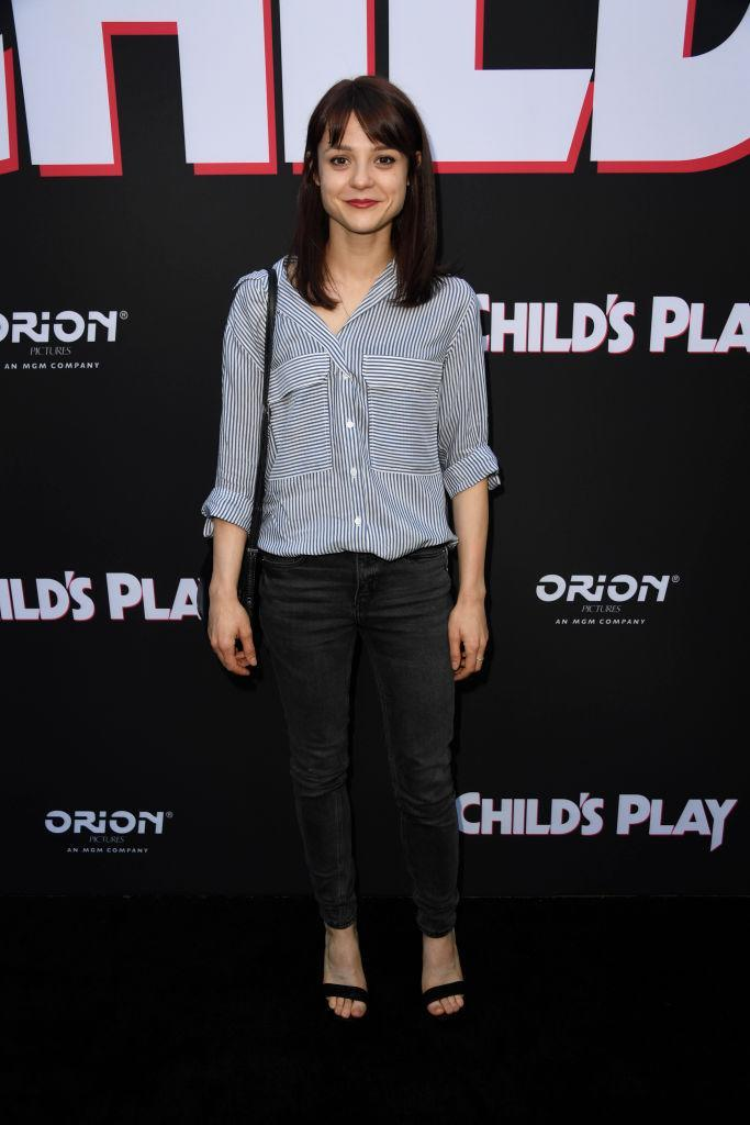 Kathryn Prescott's sister says she's recovering. (Photo: Frazer Harrison/Getty Images)
