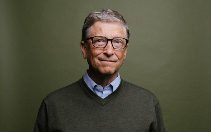 Bill Gates said he was partly motivated to fight the disease after seeing it affect his family - Daniel Berman 2017