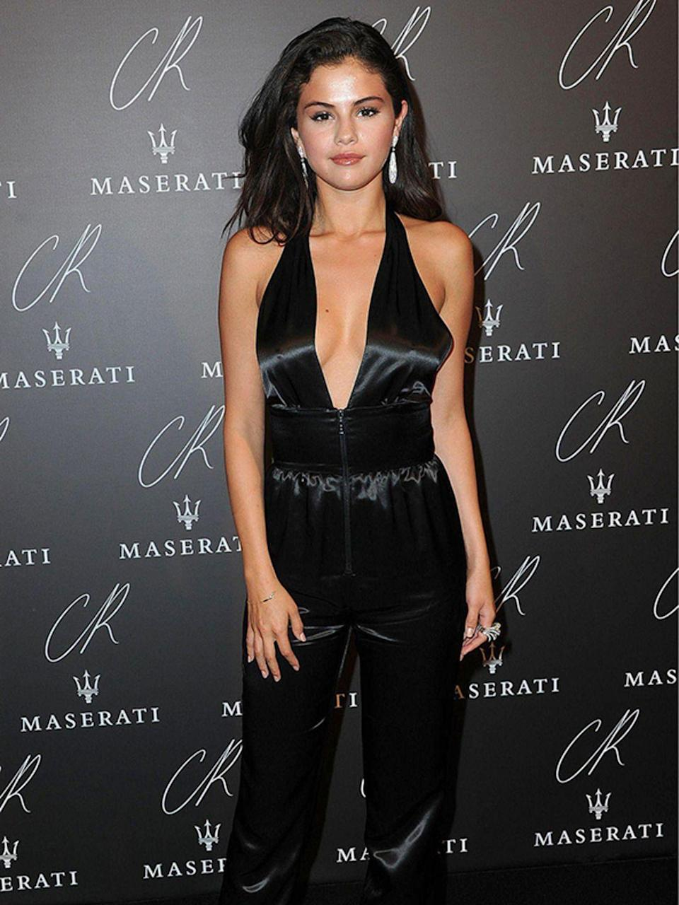 <p>Selena Gomez wearing Louis Vuitton at the CR Fashion Book Issue No.5 Launch in France, September 2014.</p>