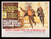 <p>BUTCH CASSIDY AND THE SUNDANCE KID (1969) - UK Quad, 1969 est. £800 - £1,200 (Prop Store)</p>
