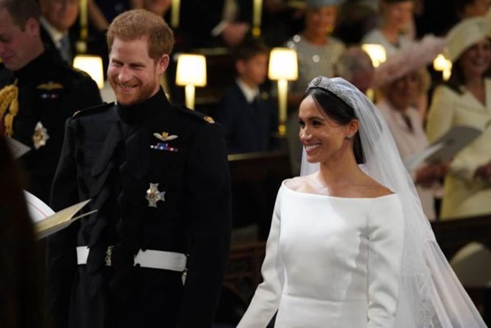 Prince Harry and Meghan Markle got married at St. George's Chapel at Windsor Castle on May 19, 2018. Meghan revealed that the couple had a private marriage ceremony three days prior.  (Photo: Getty)