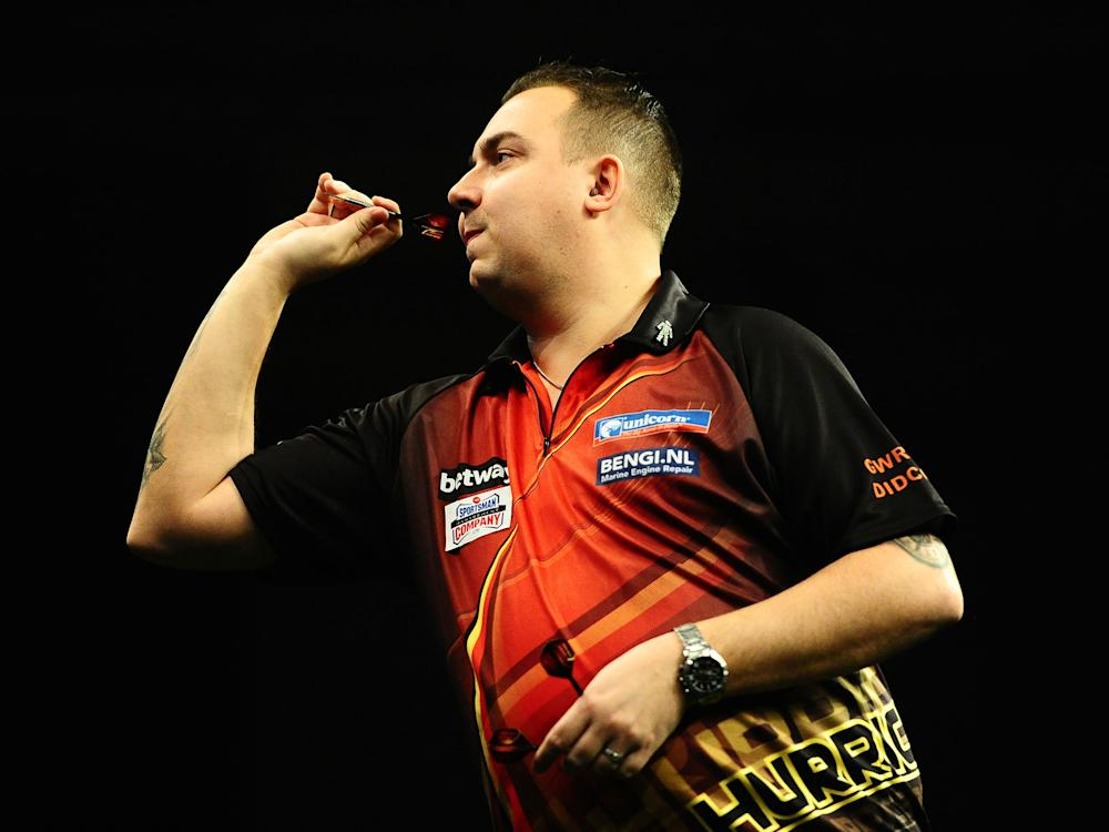 Kim Hubrechts has withdrawn from the Premier League event in Cardiff to be with his terminally ill mother: Getty