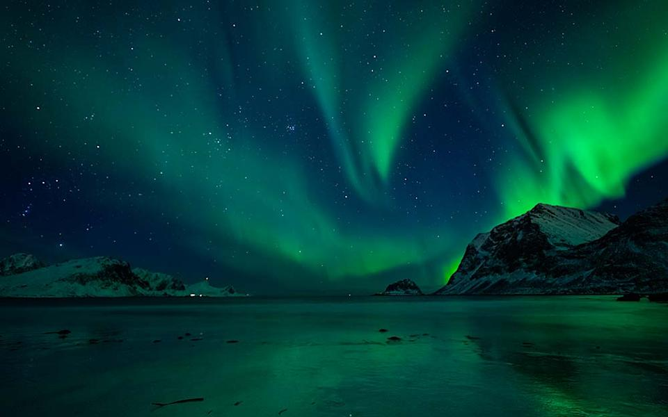 There aren't many natural phenomena that hold a candle to the aurora borealis - FELIX PERGANDE