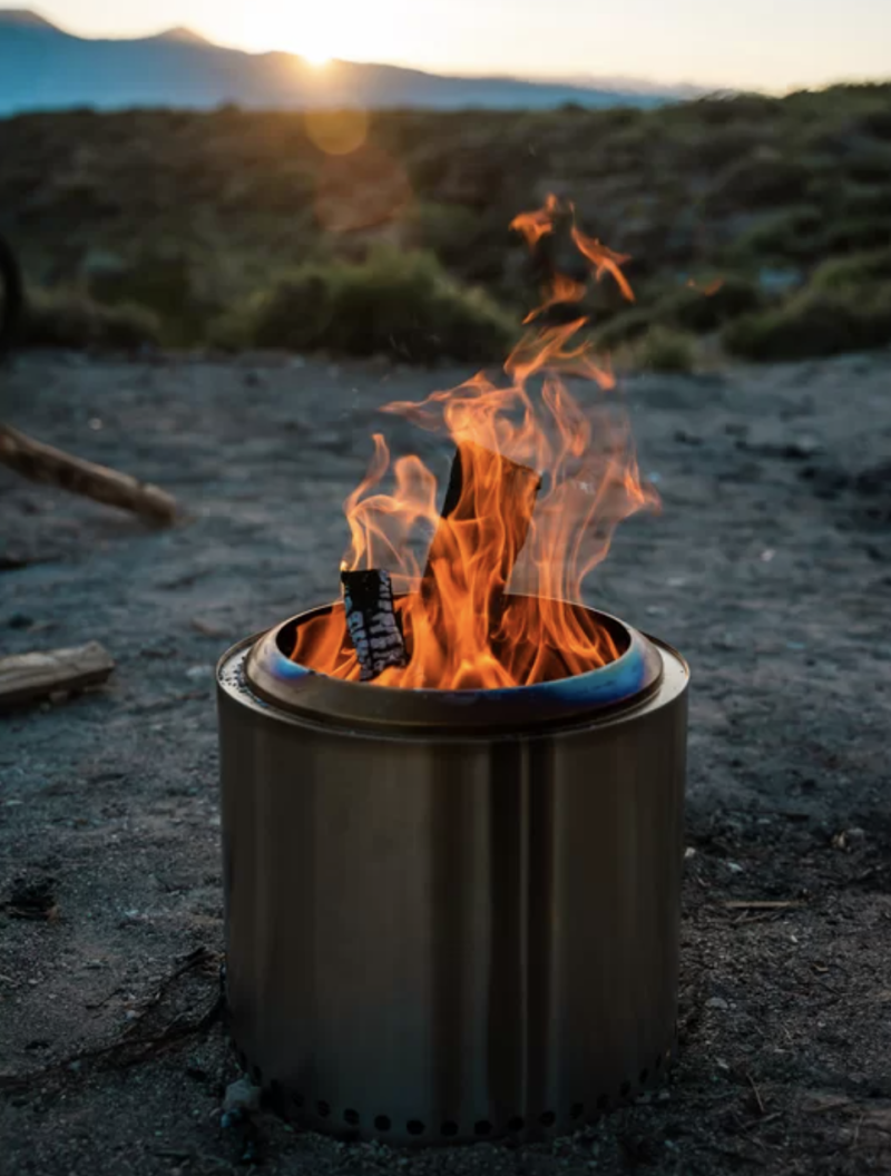 Solo Stove Ranger Stainless Steel Wood Burning Fire Pit (Photo: Wayfair)