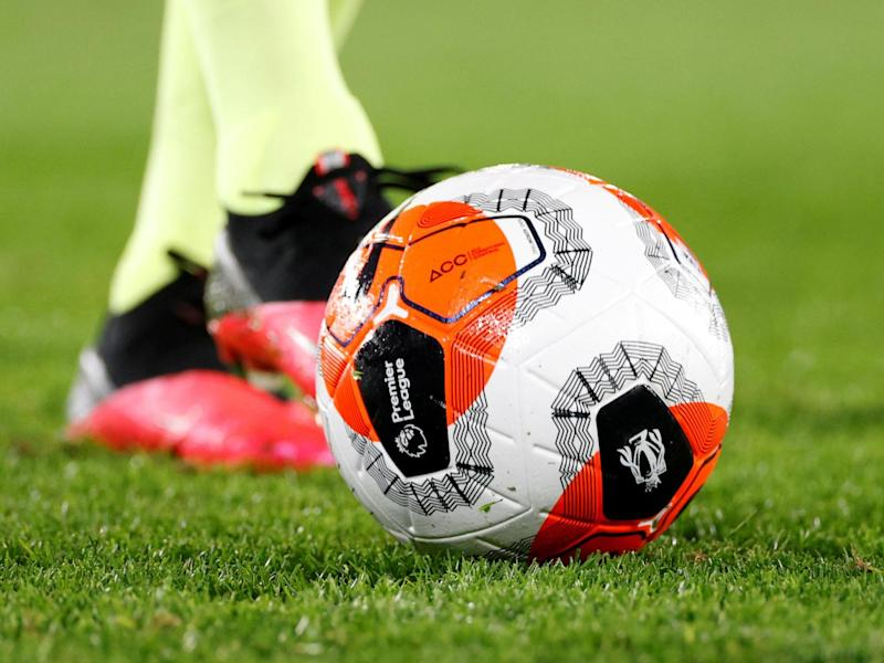 A Premier League ball: Reuters