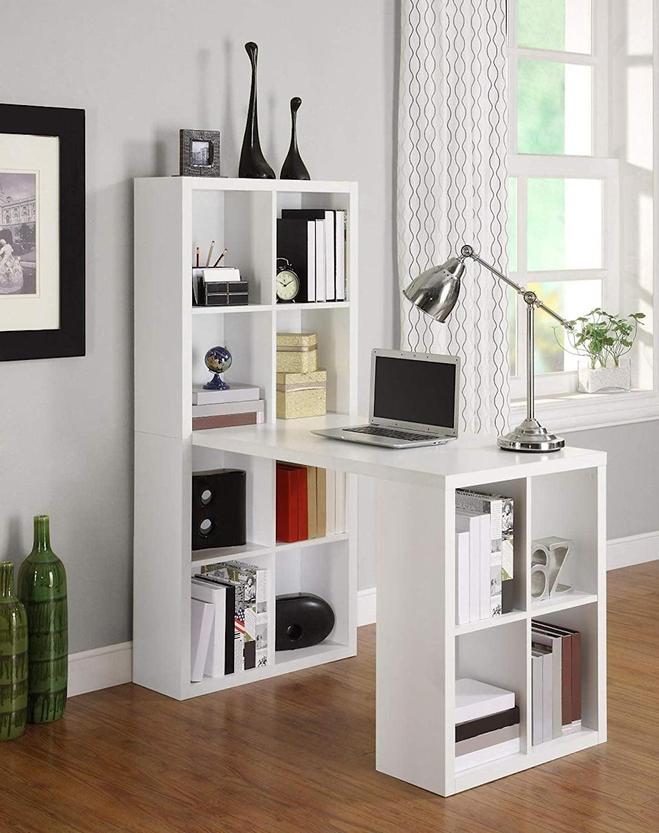 <p>This <span>Ameriwood Home London Hobby Desk</span> ($161, originally $230) is the best of both worlds, since it also doubles as a bookshelf.</p>