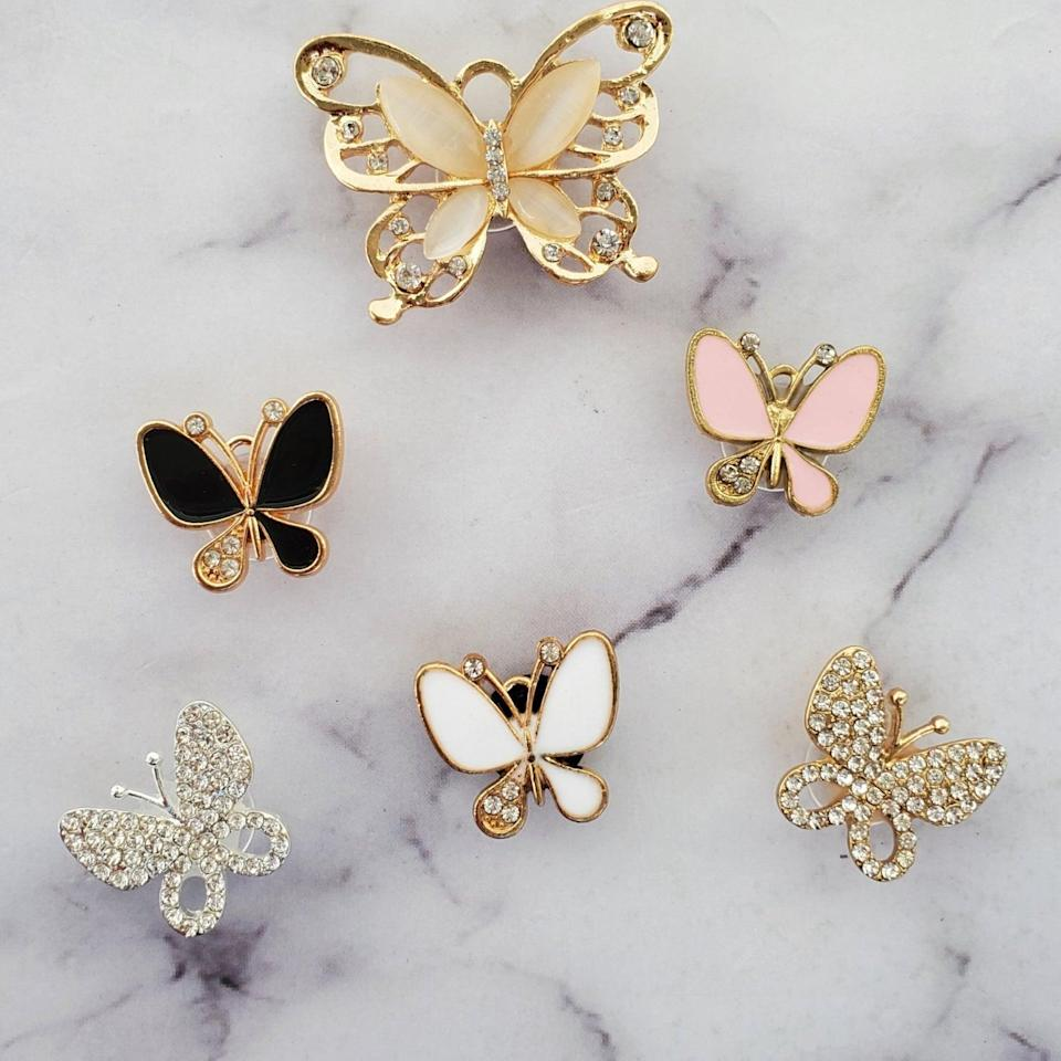<p><span>Bling Butterfly Shoe Accessories</span> ($6+)</p>