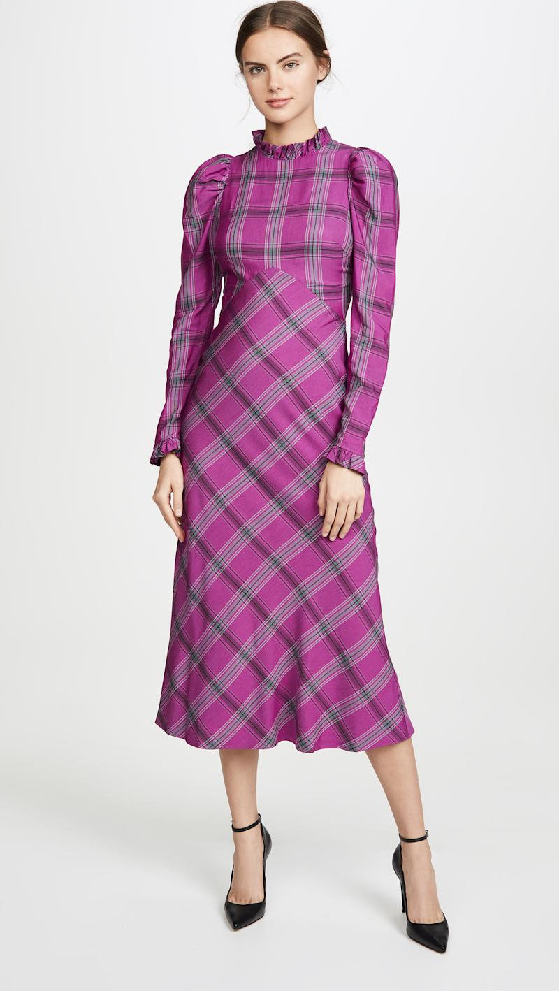 Temperley London Isobel Check Dress