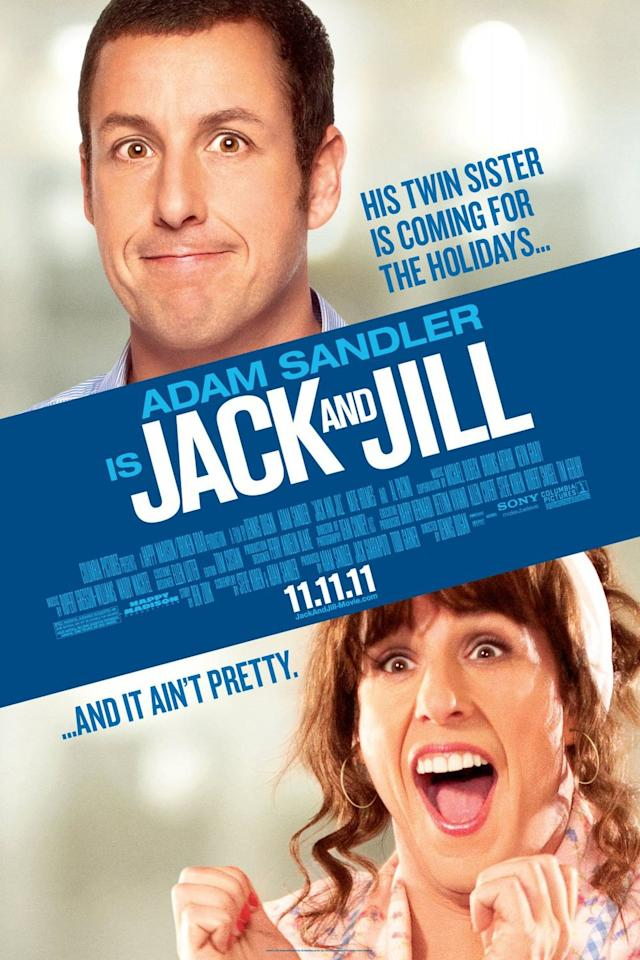 <p><strong></strong><strong>Role: </strong>Jack Sadelstein / Jill Sadelstein</p><p><strong>Rotten Tomatoes s<strong>core</strong></strong><strong>: </strong>3%</p><p>Adam Sandler as a man is pretty insufferable. Now, throw on a wig, some makeup, and his incredibly broad concepts of femininity and womanhood, and you get what is possibly a masterclass in misogyny! <br></p>