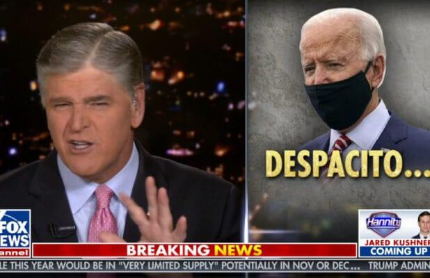 Sean Hannity Doesn't Know How to Pronounce 'Despacito' (Video)