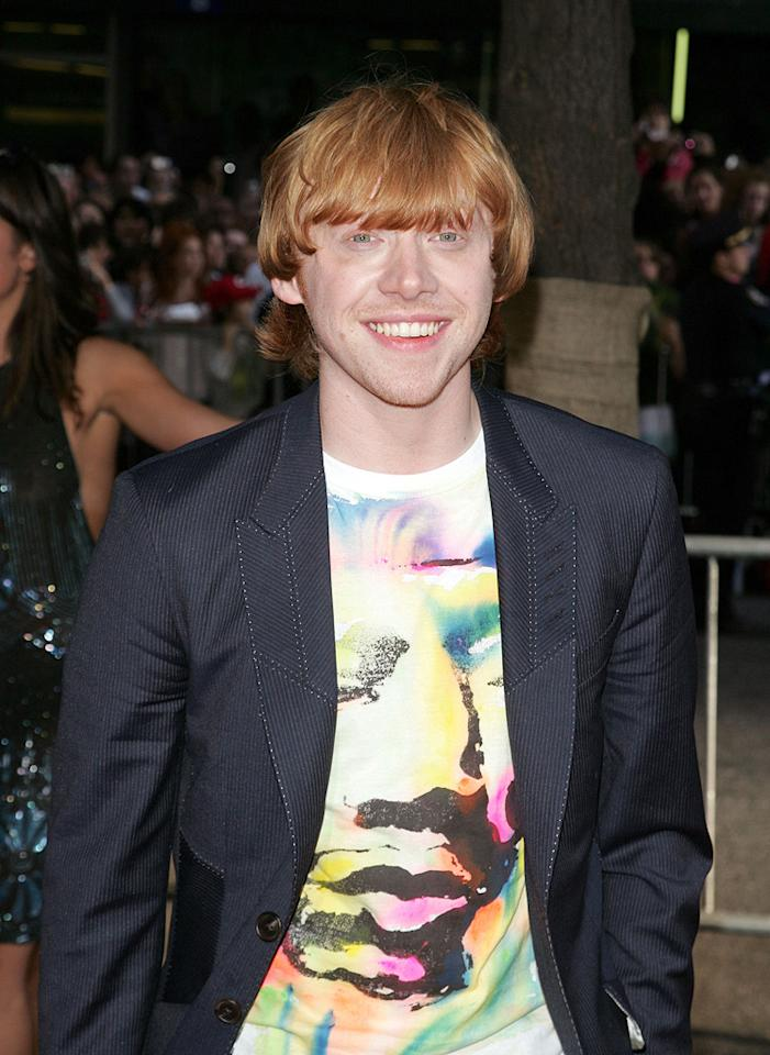 "<a href=""http://movies.yahoo.com/movie/contributor/1802866082"">Rupert Grint</a> at the New York premiere of <a href=""http://movies.yahoo.com/movie/1809791044/info"">Harry Potter and the Half-Blood Prince</a> - 07/09/2009"