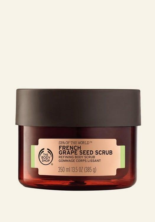 <p>Because you're an adventurer, you need a product like <span>The Body Shop Spa of the World French Grape Seed Scrub</span> ($32) that not only smells beautiful, but reminds you of some of your most favorite places in the world.</p>
