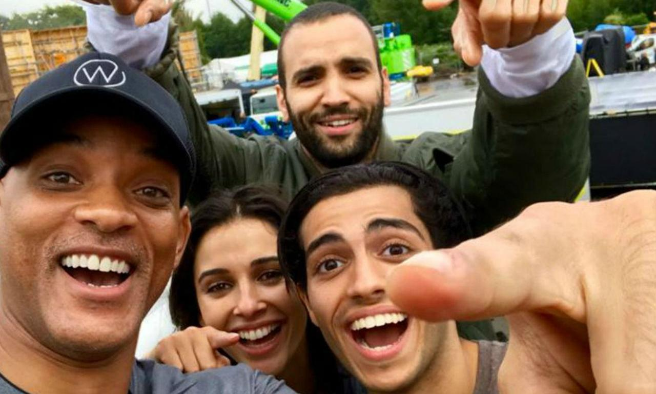 <p>Will Smith is playing Genie and Marwan Kenzari as Jafar in Guy Ritchie's live-action remake. A worldwide casting call went out to find the leads Aladdin and Jasmine, which subsequently went to Mena Massoud and Naomi Scott. Smith is rumoured to be supplying new music for the film too. </p>