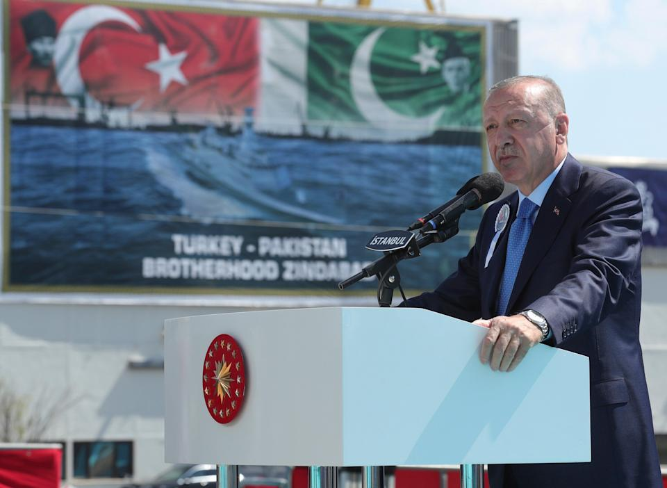 Erdogan refused to say when the three-hour meeting took place (Turkish Presidency)