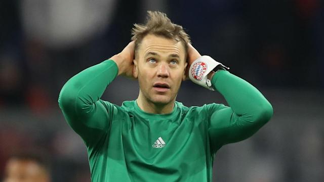 Joshua Kimmich and Alphonso Davies returned to training with Bayern Munich on Thursday but Manuel Neuer missed out with a stomach issue.