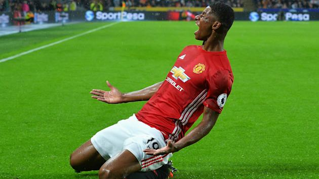 Marcus Rashford is one of the many attacking threats Manchester United have