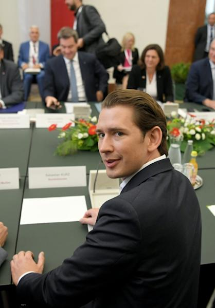 "Austrian Chancellor Sebastian Kurz says the ""fight against illegal immigration"" will be the priority from July 1 when his country takes over the rotating EU presidency"