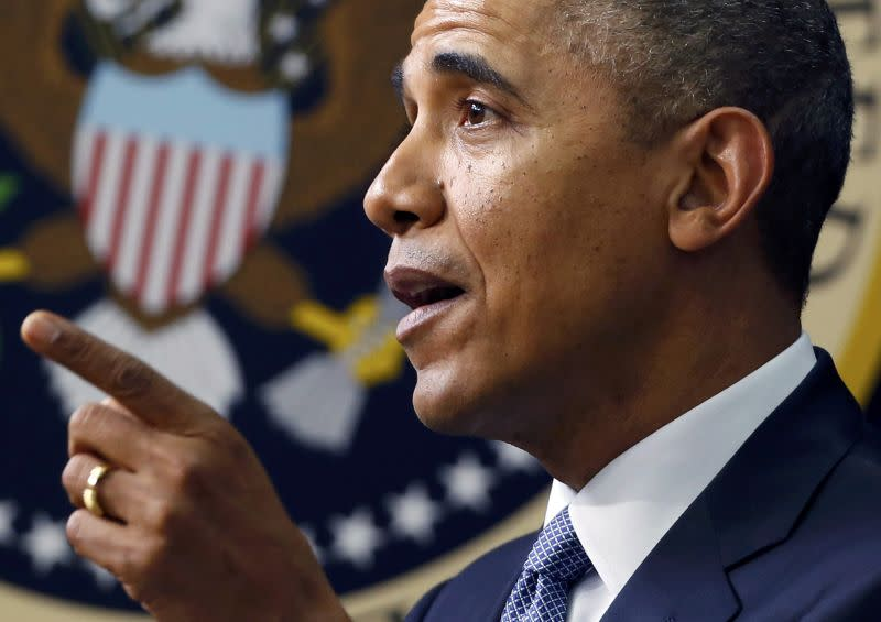 BARACK OBAMA EXCLUT UNE INTERVENTION MILITAIRE EN UKRAINE