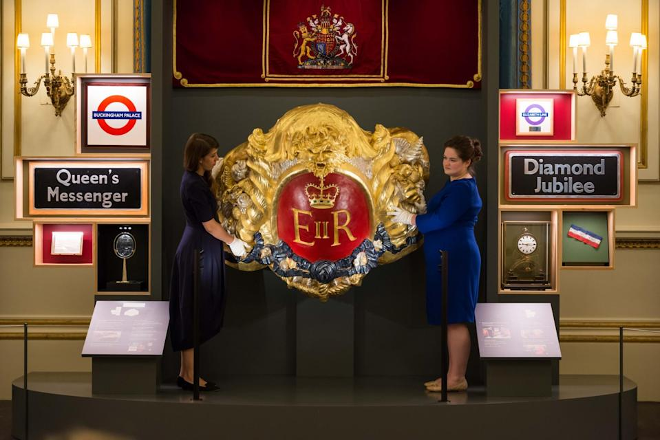 """<p>Running throughout August until October, Buckingham Palace's <a rel=""""nofollow noopener"""" href=""""https://www.royalcollection.org.uk/collection/themes/exhibitions/royal-gifts/buckingham-palace"""" target=""""_blank"""" data-ylk=""""slk:brand new exhibition"""" class=""""link rapid-noclick-resp"""">brand new exhibition</a> charts the gifts the Queen has received throughout her 65 year reign. Think exquisite handmade ornaments as well as historical artefacts from the likes of Nelson Mandela.<br><i>[Photo: Royal Collection Trust]</i> </p>"""