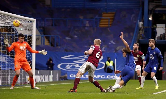 Alonso scored Chelsea's second
