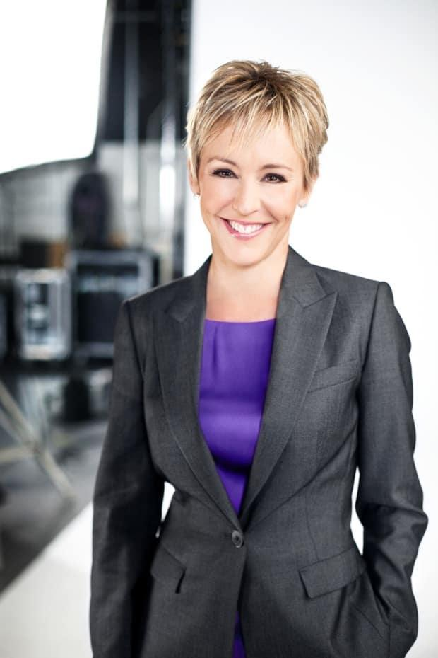 After 38 years in a variety of roles with CBC News, host Wendy Mesley, seen here in studio in 2014, announced she is retiring. (Dustin Rabin/CBC News - image credit)