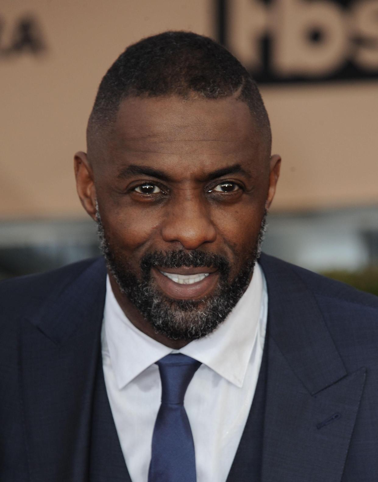 Idris Elba, seen here at the 2016 SAG Awards, is a popular choice for the next James Bond. (Photo: Dee Cercone/Everett Collection)