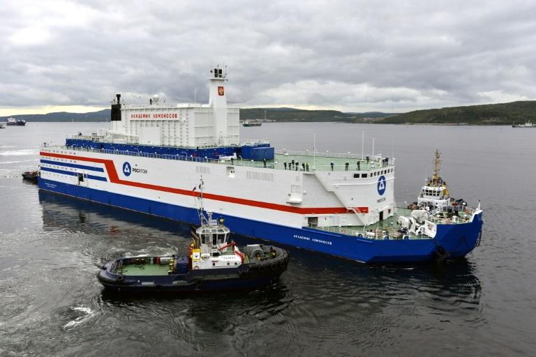 The Akademik Lomonosov, the world's first floating nuclear power plant, has completed its odyssey from the Arctic port of Murmansk to the country's far east -- but environmentalists fear for the consequences