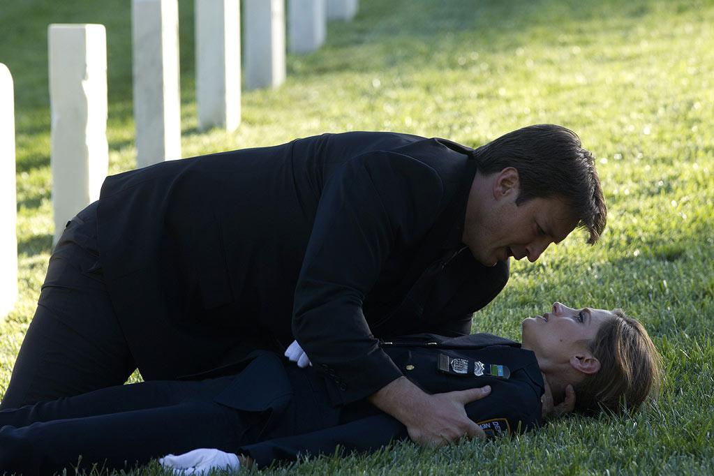 """BEST: """"<a href=""""/castle/show/43541"""">Castle</a>"""" — Someone shot Kate, and Castle finally professed his love for her. Yeah, talk about your cliffhangers. Last we saw, she was seemingly dying on the ground with Castle hanging over her. And that was after she had come face to face with one of the men who had killed her mother. <i>And</i> we were still reeling from the earlier revelation that the Chief, who had always seemed on the straight and narrow, was actually involved with the guys who murdered her mom. It was shocking and definitely left us eager for next season."""