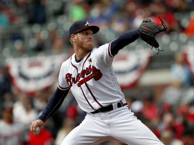 "Will we ever see a full-season breakout from <a class=""link rapid-noclick-resp"" href=""/mlb/players/9577/"" data-ylk=""slk:Mike Foltynewicz"">Mike Foltynewicz</a> (AP/John Bazemore)"