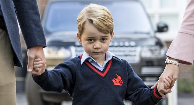 "Prince George has a ""shy"" and ""serious"" personality, according to a royal insider [Image: Getty]"