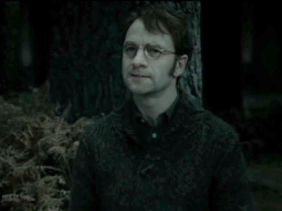 Voldemort killed James Potter in his quest to destroy Harry.