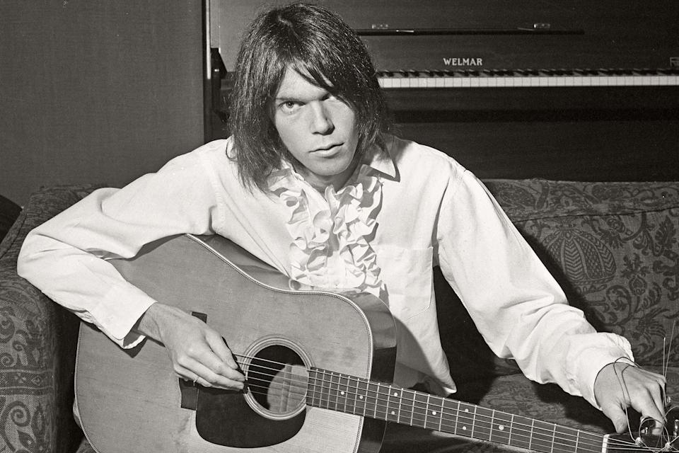 Photo of Neil YOUNG - Credit: Dick Barnatt/Redferns/Getty Images
