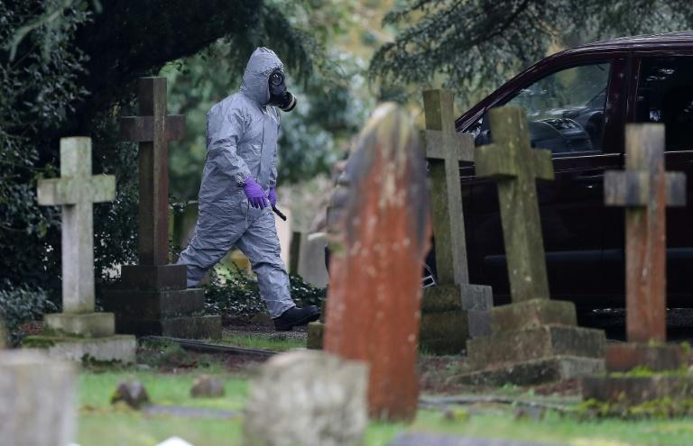 Emergency personnel in biohazard suits have been deployed in normally quiet Salisbury, as police and soldiers scour affected areas in the city