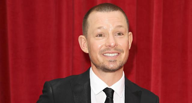 Adam Rickett attends the British Soap Awards 2018 at Hackney Empire on June 2, 2018 in London, England. (Photo by Tristan Fewings/Getty Images)