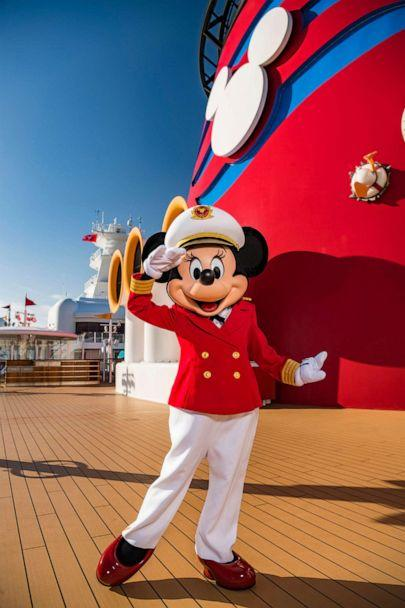 PHOTO: Captain Minnie Mouse is delighting children aboard all Disney Cruise Line ships. (Disney Cruise Line)