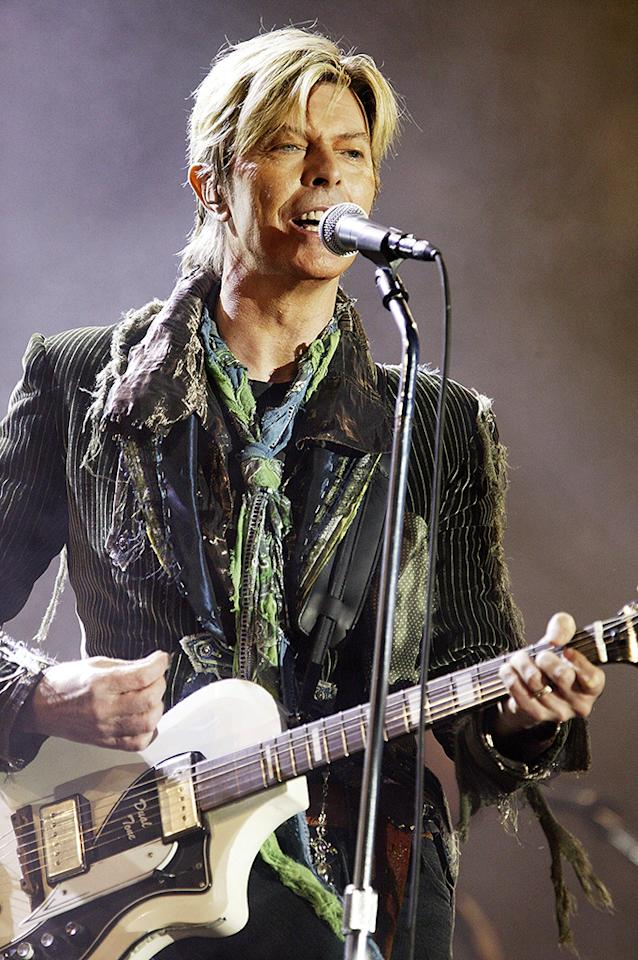 "<p>The year 2016 was an extraordinarily tragic one in terms of losses in the music world — with the untimely death of one of rock's most revered icons, David Bowie, hitting in January. Just two days after his 69th birthday, Bowie passed away from liver cancer; he had been diagnosed with the condition 18 months earlier but decided not to make the news public, choosing instead to continue work on what would be his last album, ""Blackstar."" His 25th studio album — which was released on his birthday — would go on to be his only album to top the Billboard 200 in the United States. It earned four Grammy nominations at the end of 2016. (Photo: Jo Hale/Getty Images) </p>"