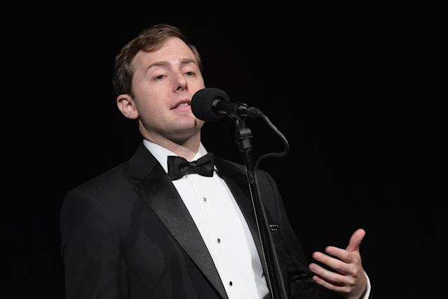 Former Obama speechwriter David Litt at a storytelling event in New York City earlier this year. (Photo: Ben Gabbe/Getty Images for The Moth)