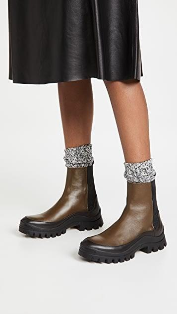 <p>These <span>Rejina Pyo Mira 30mm Boots</span> ($575) are fresh and versatile.</p>