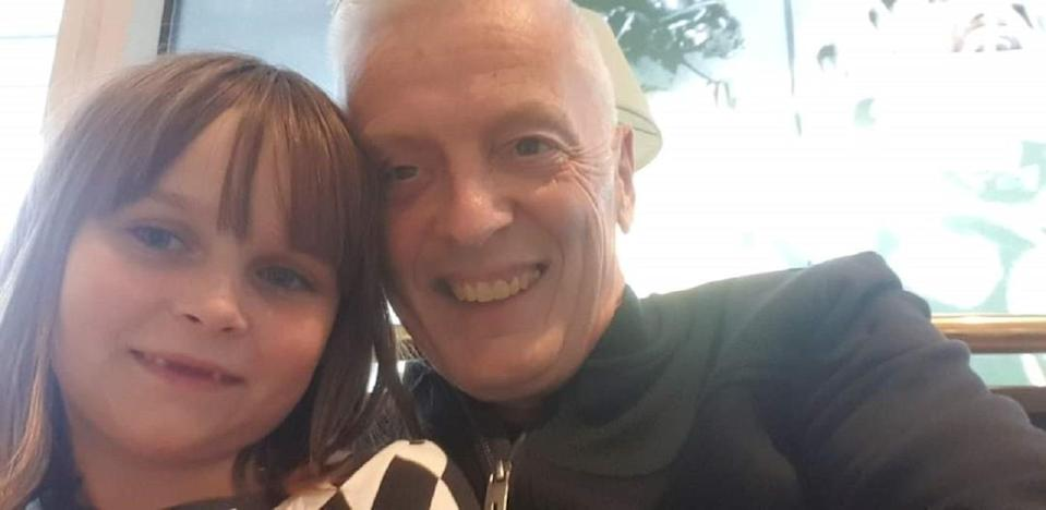 Peter North has been unable to travel with his granddaughter Eija to Sweden (Peter North)
