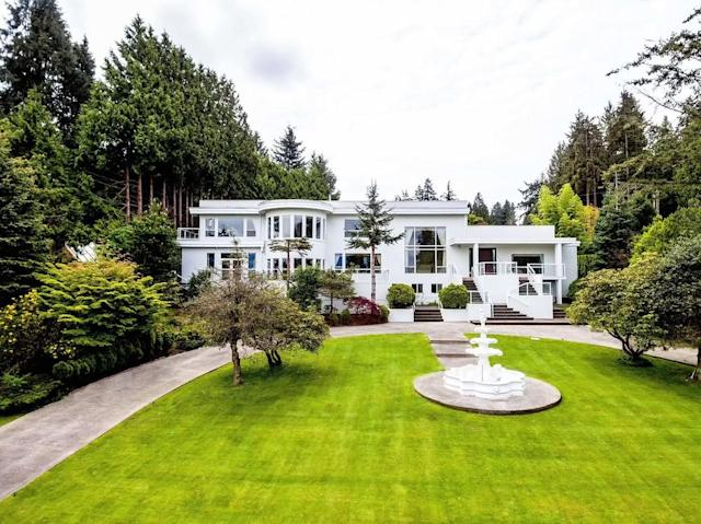 <p>No. 8: (tie) <span>4838 Belmont Avenue, Vancouver, B.C.</span><br> List price: $28,000,000<br> Located in Vancouver's famed Point Grey neighbourhood, this 8,100-square-foot luxury home has five bedrooms and seven-and-a-half bathrooms. The master suite is spacious, with its own office offering scenic views. The home also has an indoor pool and sauna, plus nanny quarters. (Photo: Manyee Lui and Associates) </p>