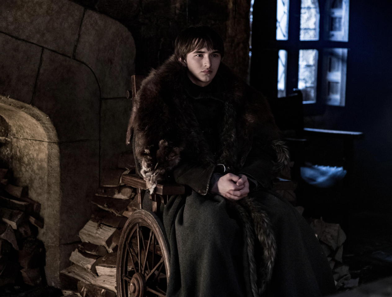 <p>Bran Stark prepares for the battle between the living and the dead.</p>