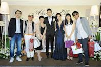 "From left: Taiwanese veteran TV hosts Harlem Yu, <span class=""st"">Huang Zi Jiao, Chang Hsiao-yen, Alvin and Ella, Matilda Tao and husband Li Li-Ren</span>"