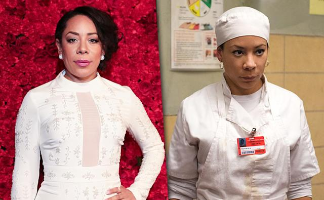 <p>Mendoza became the new queen bee, taking over as head cook when Red's smuggling operation came under investigation, and has gone on to become Litchfield's voice of reason, taking many a Litchfieldian under her down to earth wing. <i>OITNB</i>, meanwhile, is far from Leyva's first experience in a crime-related TV role; she has previously starred on <i>Law & Order</i>, <i>Blue Bloods</i>, <i>Elementary</i>, <i>Law & Order: Criminal Intent</i>, and <i>The Good Wife</i>.<br><br>(Photo: Getty Images/Netflix) </p>