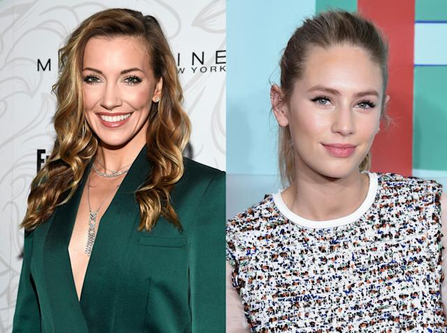 Katie Cassidy and Dylan Penn