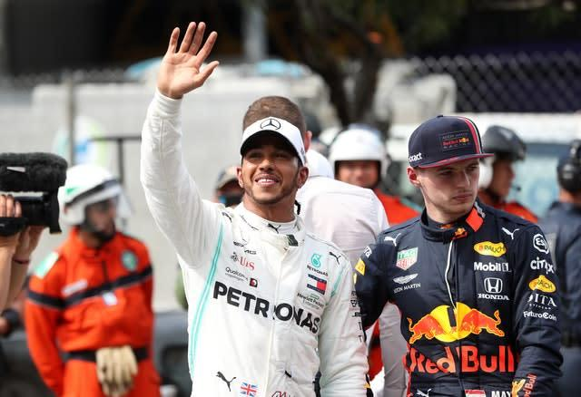 Lewis Hamilton's contract with Mercedes expires at the end of the year (David Davies/PA)