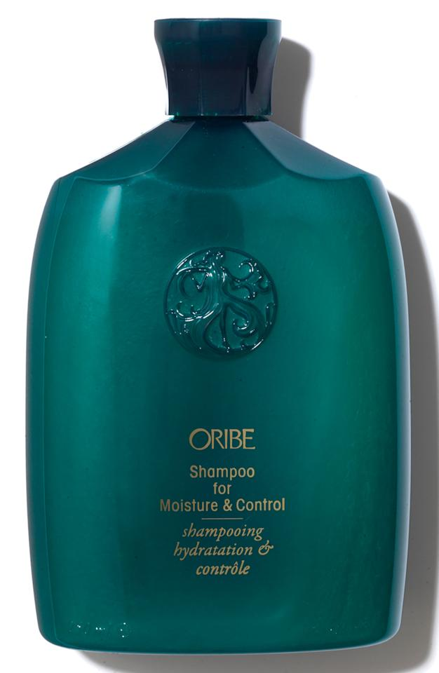 "<p><strong>ORIBE</strong></p><p>nordstrom.com</p><p><strong>$46.00</strong></p><p><a href=""https://go.redirectingat.com?id=74968X1596630&url=https%3A%2F%2Fshop.nordstrom.com%2Fs%2Fspace-nk-apothecary-oribe-shampoo-for-moisture-control%2F4513674&sref=http%3A%2F%2Fwww.harpersbazaar.com%2Fbeauty%2Fhair%2Fg28185270%2Fbest-shampoo-for-curly-hair%2F"" target=""_blank"">Shop Now</a></p><p>This sulfate-free wash instantly hydrates hair and leaves curls sleek and managed.</p>"