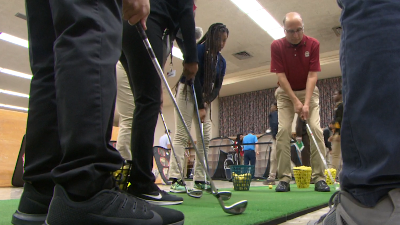 After-school golf program helps students get into college