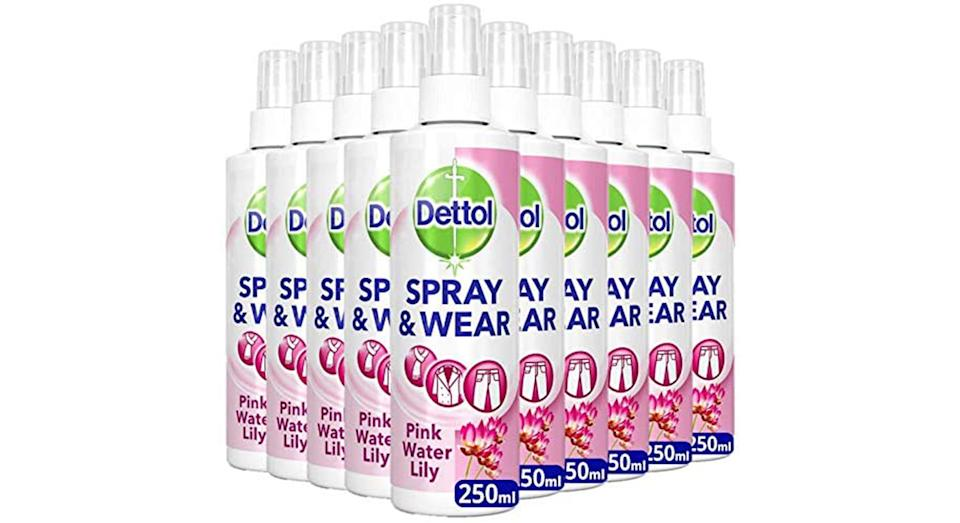 Dettol Spray and Wear Fabric Clothes Freshener Spray