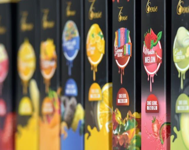 There are thousands of flavours available, , which can help target the devices at at children and young adults, WHO said (Nick Ansell/PA)